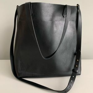 MADEWELL TRANSPORT TOTE - BLACK NWT